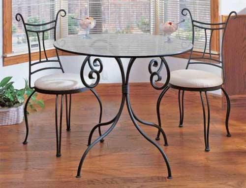 металлическая мебель для дома