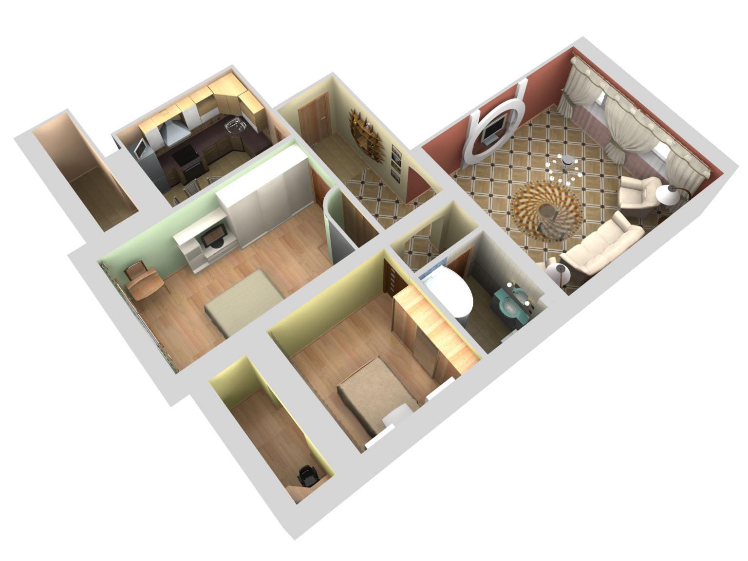 Как сделать из квартир жилой дом